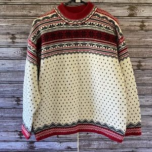 Lands' End 100% Wool Sweater Size M